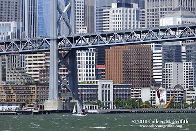 San Francisco Bay Sailing ©  2010 Colleen M. Griffith. All Rights Reserved.  This material may not be published, broadcast, modified, or redistributed in any way without written agreement with the creator.  This image is registered with the US Copyright Office. www.colleenmgriffith.com www.facebook.com/colleen.griffith