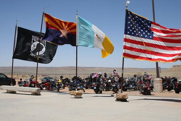 7th Navajo/Hopi Honor Run Day 1