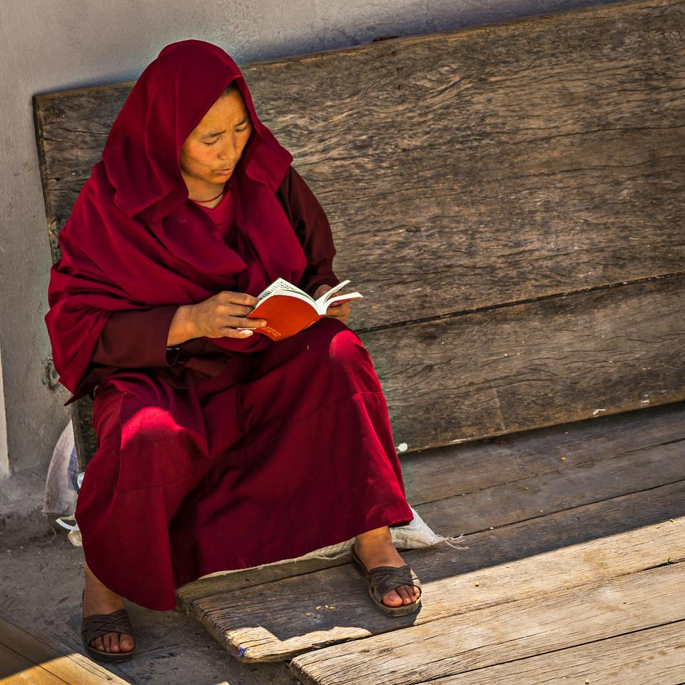 Reading Monk