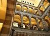 Magna Plaza - built in 1899 - here up the central atrium with three levels of shopping - Amsterdam
