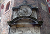 De Waag (the Weigh House) - with the guild symbols placed above the doorway to the mason's trade or business - Amsterdam