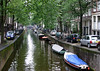 Side canal of Amsterdam