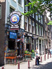 Bulldog #90 - Amsterdam's first established coffeehouse (1975) - named after his dog Joris - Amsterdam drug laws permits the sale of a maximum of 0.18 oz. (5 gms) per person > 18 yrs. of age - but now alcohol sales allowed under the same roof.