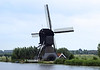 De Blokker Molen (the blocker mill) - built in 1521, and burned down in 1997, but restored and operational since 2000 - its flight measures about 89 ft. (27 m) -Kinderdink - South Holland province