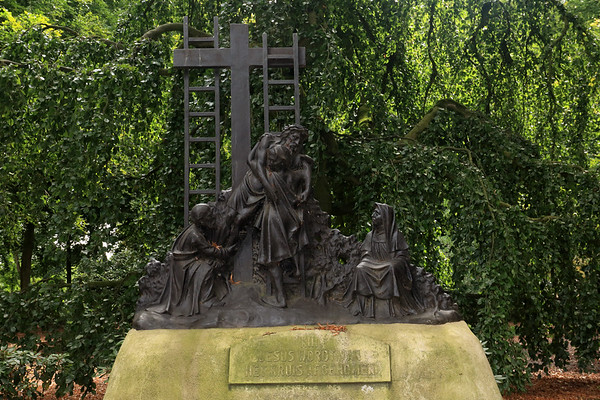 13 - Jesus Is Taken From The Cross - Procession park in the village of  Handel - municipality of Gemert-Balel - North Brandant province.