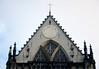 Nieuwe Kerk (New Church) - beyond the spires to the the depressed arched window of south transept - Amsterdam