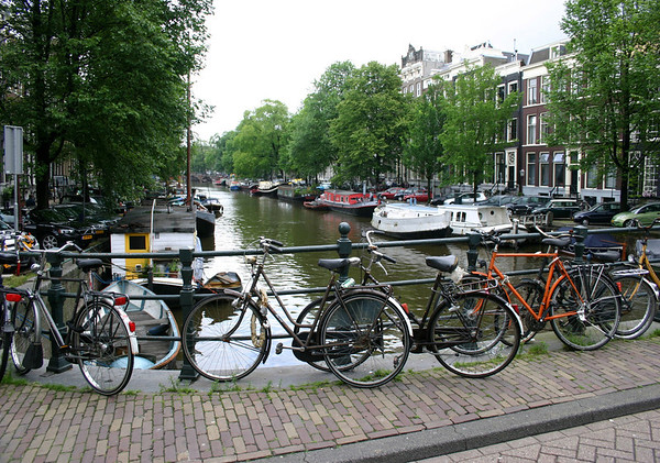 Bikes - Boats - Bridges and Canals - Amsterdam