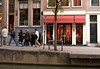 "De Wallen (the Walls) area of the Old Center district - the Red Light District along the Oudezijds Archterburgwal Canal - ""Ladies of the Day"" - Amsterdam"
