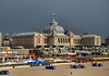 Kurhaus Hotel - located on the beach along the North Sea - town of Scheveningen - where back in 1964 the Rolling Stones performed, they shortest concert ever, for the audience ransacked the hall inside the hotel while they began to perform