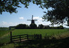 Windmill in the North Holland province