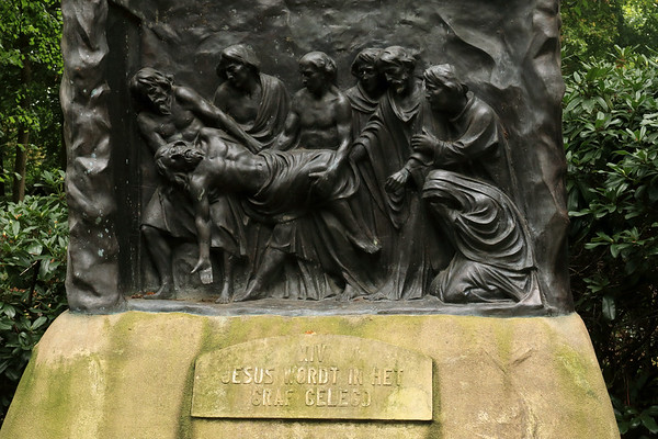 14 - Jesus Is Taken To The Tomb -  Procession park in the village of  Handel - municipality of Gemert-Balel - North Brandant province.