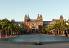 Rijksmuseum (State Museum) - constructed from 1876-1885 - a Dutch national museum dedicated to arts, crafts, and history - the museum was founded in 1800 in The Hague, then in 1808 the museum moved to Amsterdam