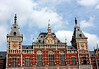 Central Train Station - the neo-Renaissance building opened in 1889 - Amsterdam