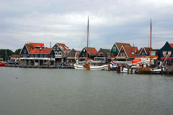 """Volendam, the """"Pearl of the Zuidersee"""" - on the western shore of Markermeer (Lake Marken), which was formed by the Houtribdijk Dike (built from 1963-1975), that basically divided the Zuidersee (Southern Sea) in half - North Holland province"""