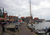 Volendam (means Filled Dam) - here at the harbor, about 12 mi. (19 km) northeast of Amsterdam - North Holland province