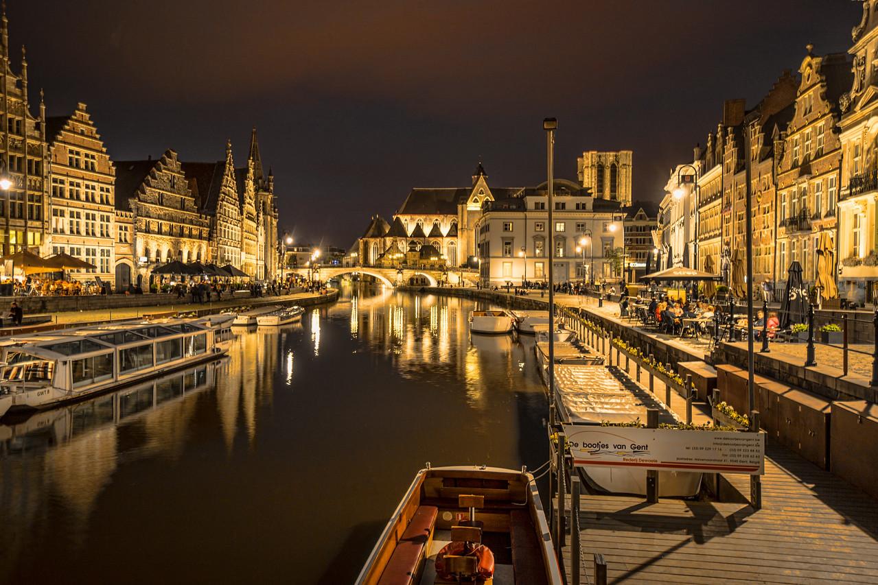 Ghent; Belgium,  9pm
