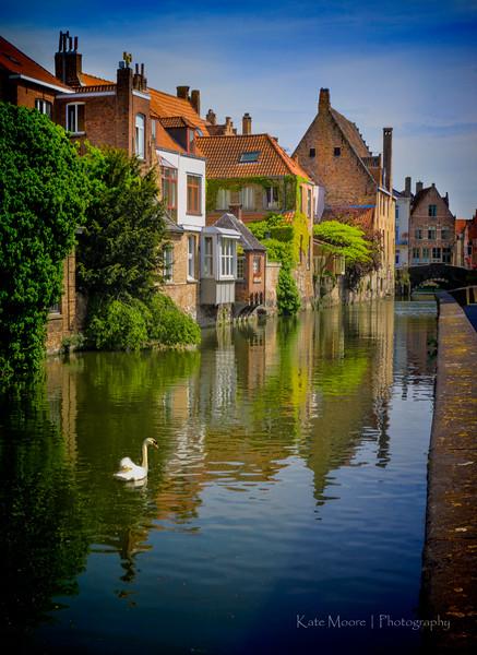 Brugges, Belgium, Sunday morning