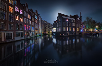 Amsterdam over Moonlight