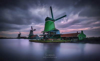 The Green Windmill