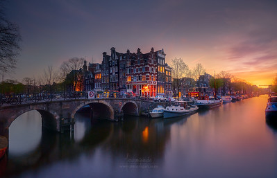 Blasting Colors in Amsterdam