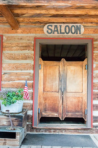 The Saloon at the Nevada City Hotel