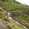 A river on a hillside