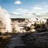 A geyser field