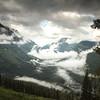 Clouds amongst the peaks