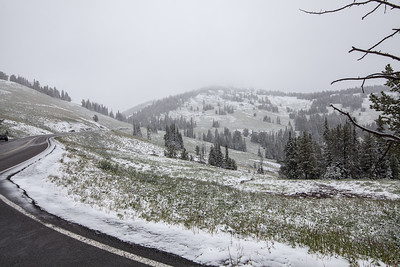 Scenic-Dunraven-Pass-with-summer-snow-Yellowstone-National-Park-Wyoming-(c)-Bolio-Photography