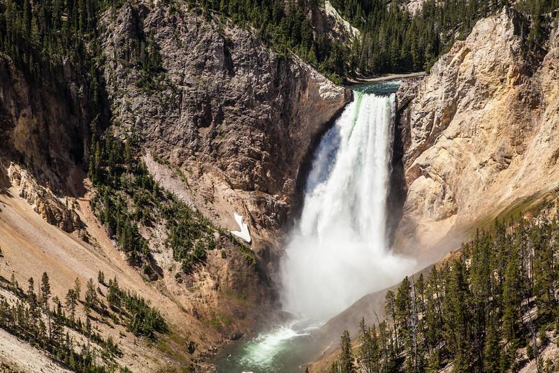 Yellowstone's Grand Canyon Waterfall