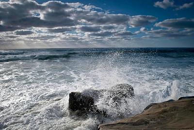 High Tide, Wind N Sea, Bird Rock ©JLCramerPhotography 2010