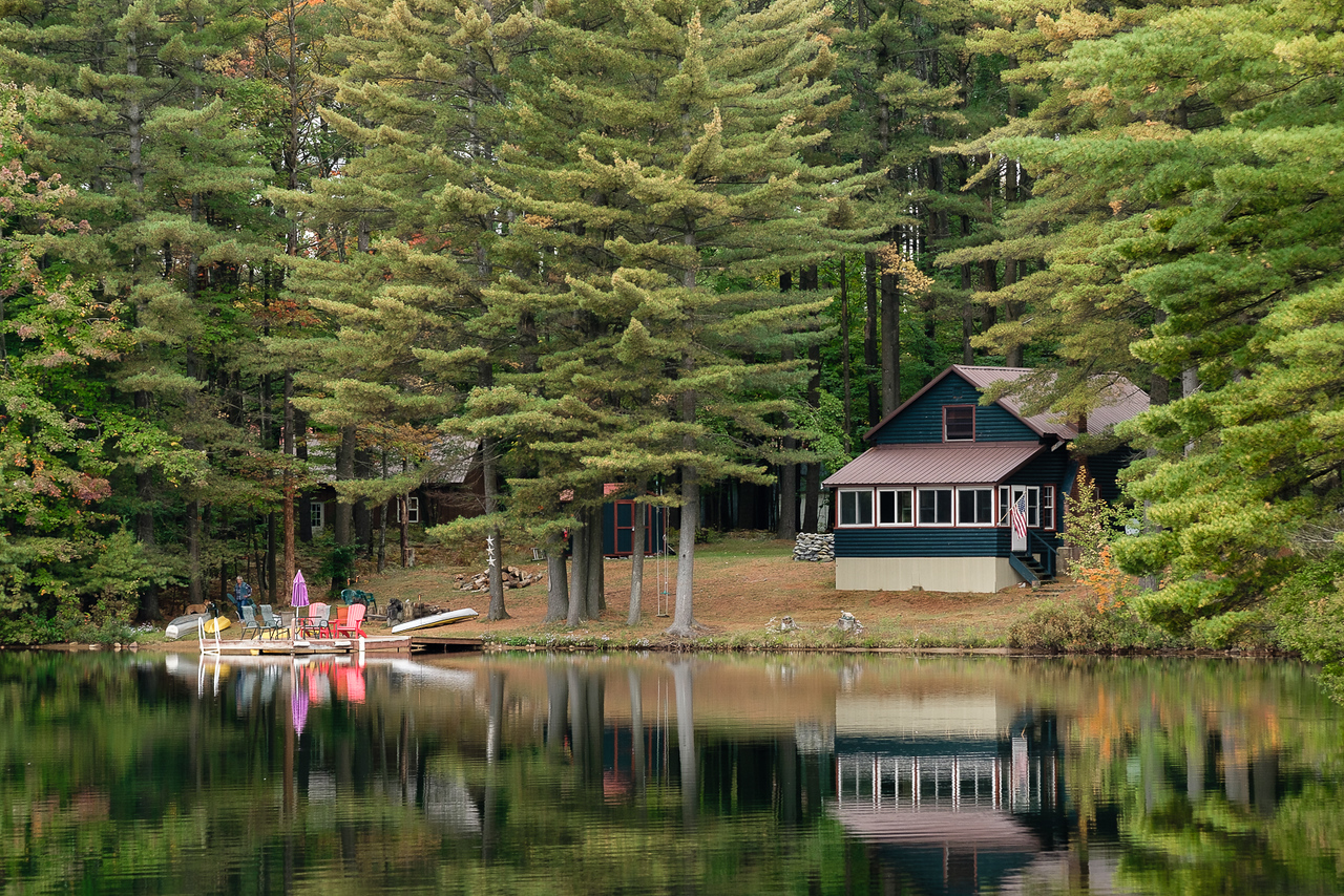 Still Water and Remote Cabin at White Lake NY