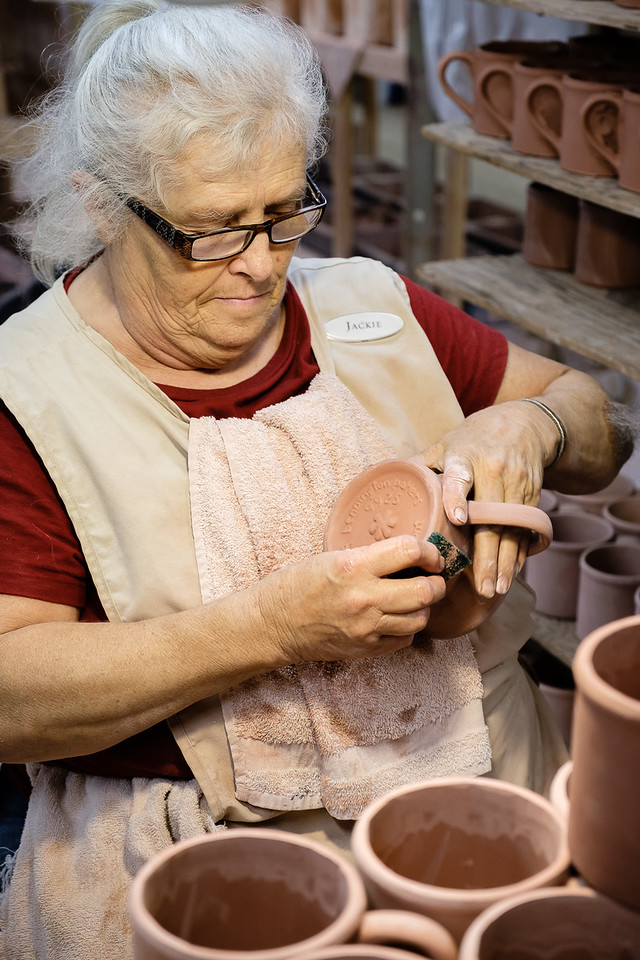 Making Pottery at Bennington Potters in Vermont
