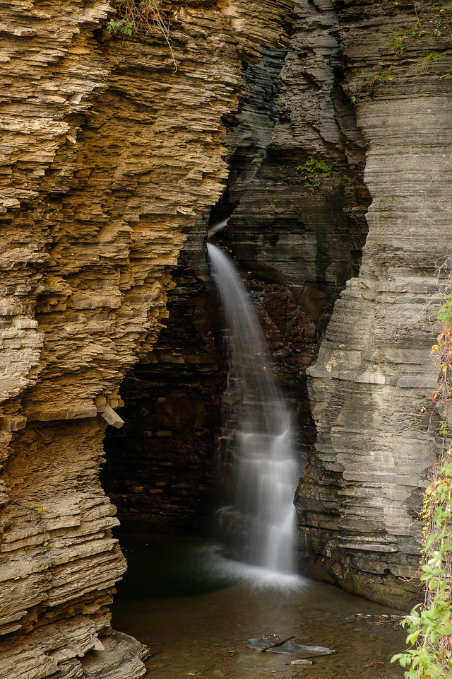 Waterfalls in Watkins Glen State Park