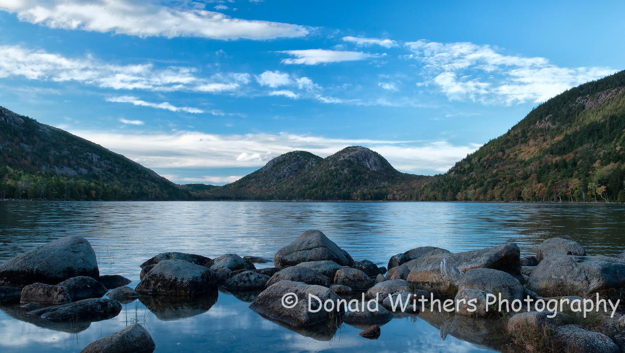 The Bubbles at Jordan Pond | Acadia National Park
