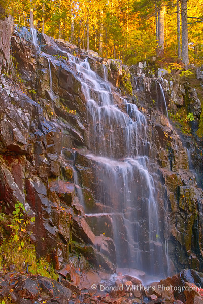 Falls at Acadia | Acadia National Park
