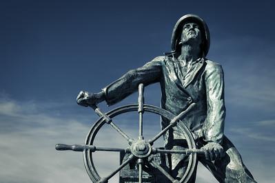 Man at the Wheel
