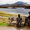 Unknown Statues Assynt Scotland.