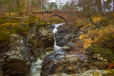 Bridge at the Linn of Dee.