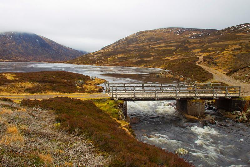 Bridge at Callater Burn. Braemar.