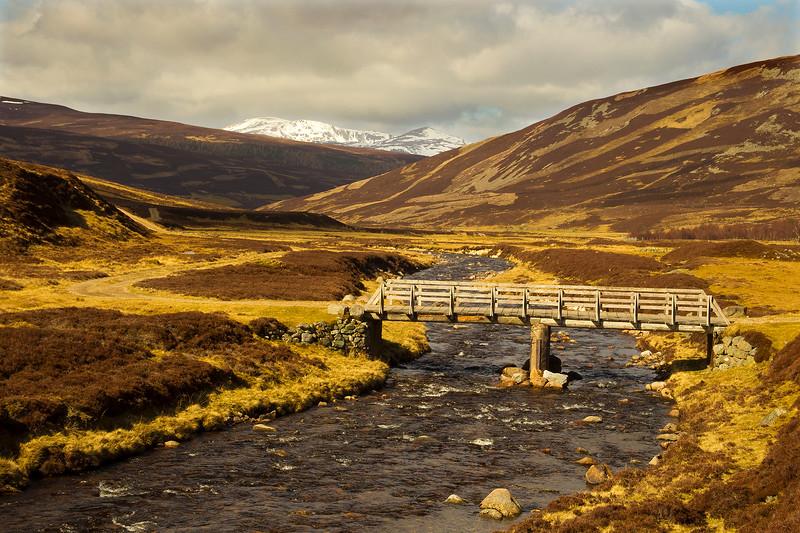 Bridge in Glen Callater. Aberdeenshire. John Chapman.
