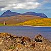 Ardvreck Castle Ruin. Assynt. Sutherland Scotland.