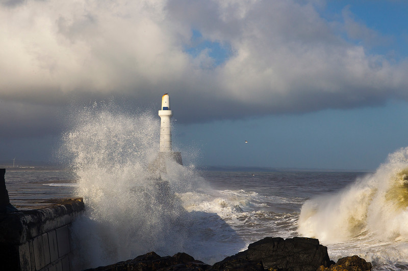 Stormy Seas Aberdeen.