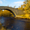The Old Road Bridge at the Gairn. Aberdeenshire.