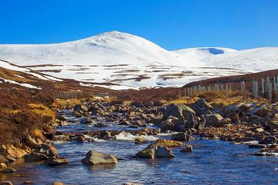 Hills at Braemar. Aberdeenshire.