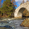 Invercauld Bridge. Aberdeenshire. Scotland.