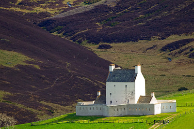 CORGARFF CASTLE Aberdeenshire.