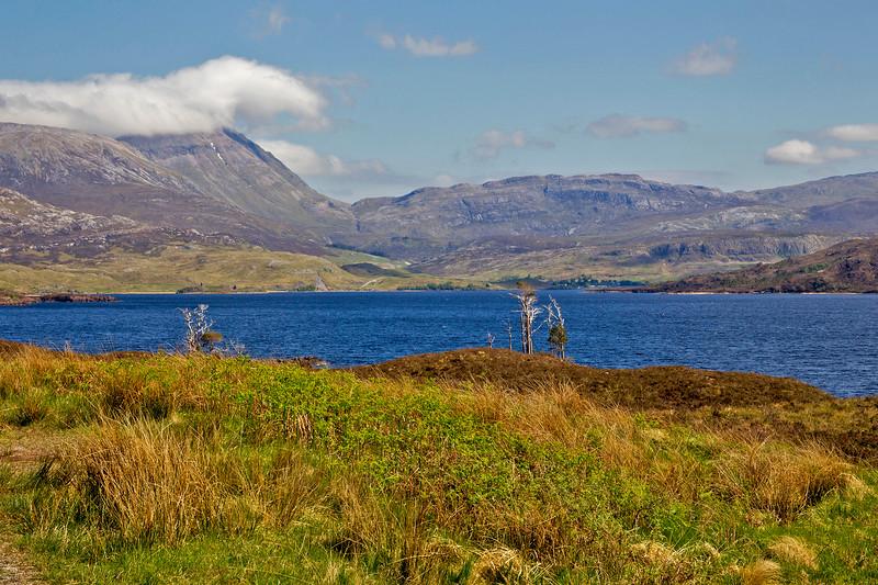 Assynt Mountain Range. Sutherland. Scotland.