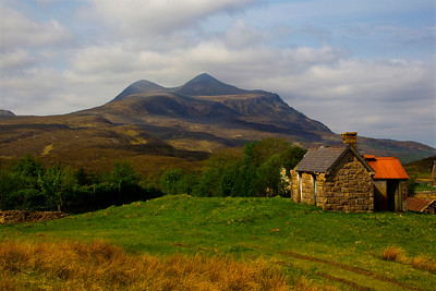 The Mountain Of Culmor. Sutherland. Scotland.