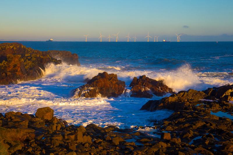 Bay of Nigg Aberdeen Scotland.